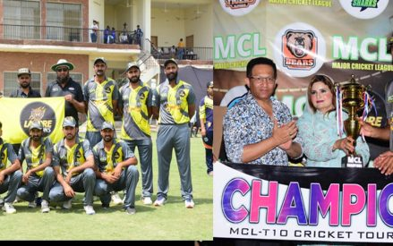 Qureshi hails MCL champions